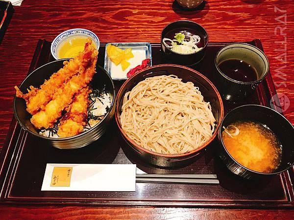 日本中部北陸自由行-松本市必吃美食-蕎麥麵