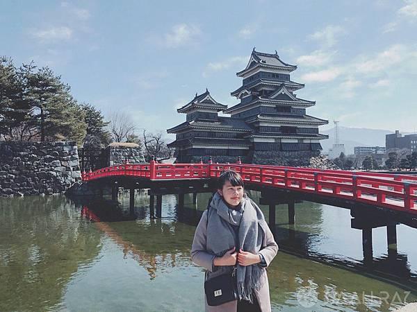 日本中部北陸自由行-日本三大名城-松本城-日本北陸松本市必去景點