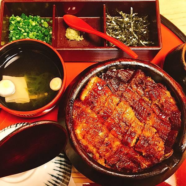 日本中部北陸自由行-名古屋美食推薦-必吃美食-蓬萊軒鰻魚飯あった