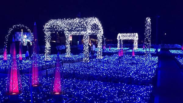 日本中部北陸自由行-名古屋景點推薦-日本最大燈海-名花之里燈海