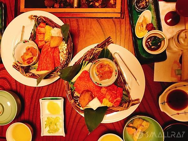 日本中部北陸自由行-日本知名溫泉-平湯溫泉美食-飛驒牛料理