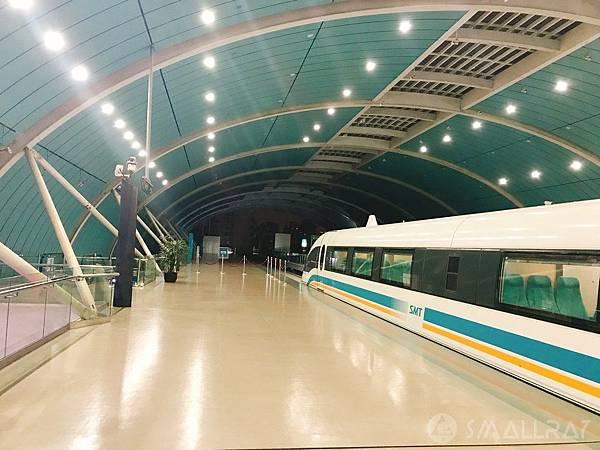上海浦東國際機場坐磁浮列車--上海旅遊-中國魔都上海四天三夜超順路旅遊攻略懶人包,上海必去景點規劃推薦