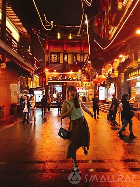 上海豫園老街美景--上海旅遊-中國魔都上海四天三夜超順路旅遊攻略懶人包,上海必去景點規劃推薦!