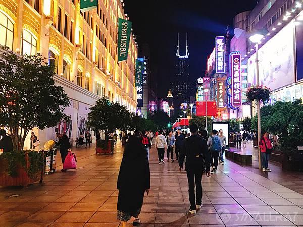 南京路步行街-上海旅遊-中國魔都上海四天三夜超順路旅遊攻略懶人包,上海必去景點規劃推薦!