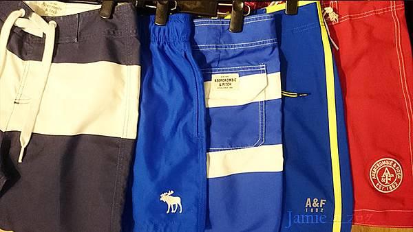 A&F海灘褲