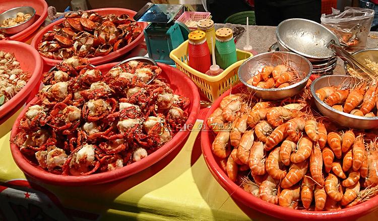 海鮮好吃美味泰國蝦 水產