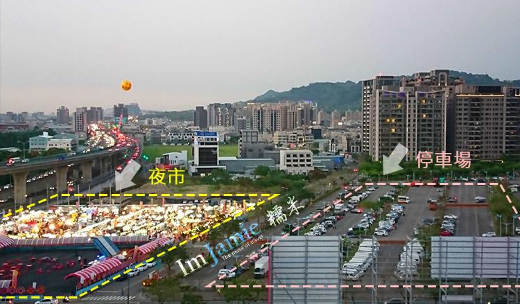 jamie blog太原夜市方位地圖