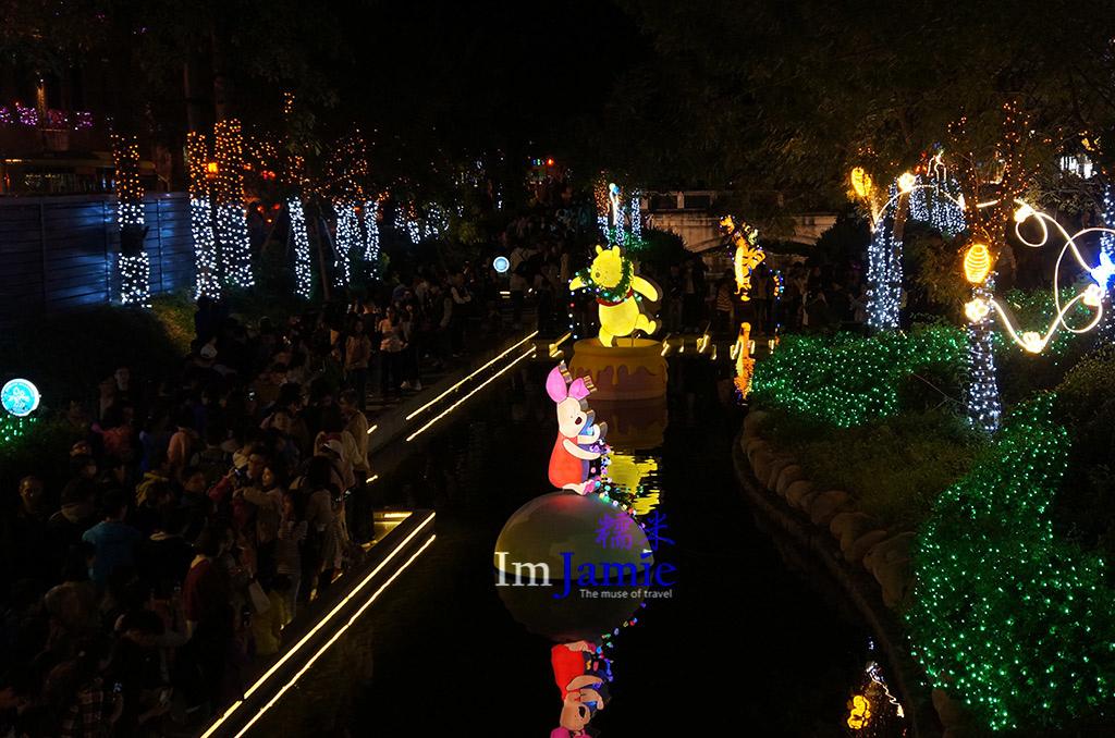 迪士尼米奇系列在綠川.jpg