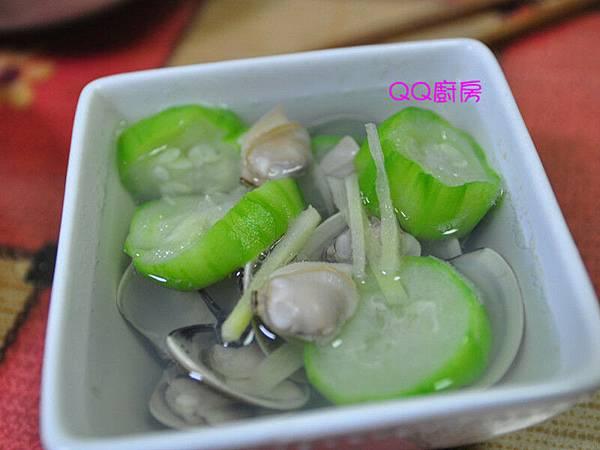 薑絲蛤蜊澎湖絲瓜湯