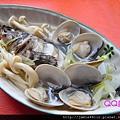 蛤蜊菇菇清蒸黑毛