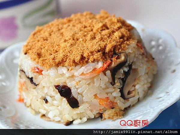 香菇櫻花蝦米糕