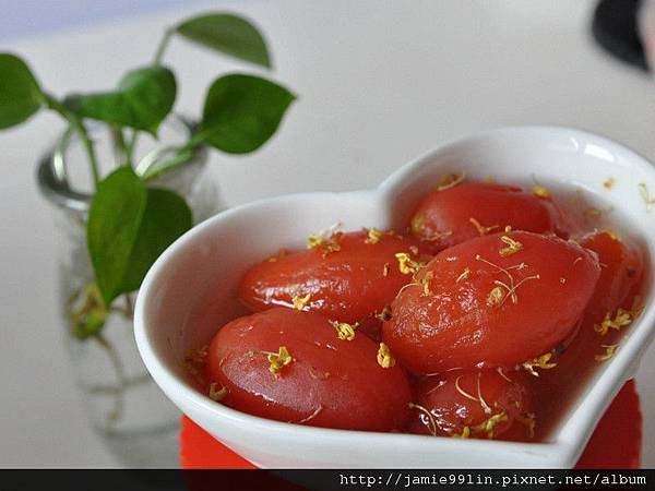桂花冰糖梅柿釀蕃茄