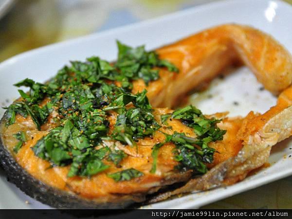 七味粉塔香鮭魚