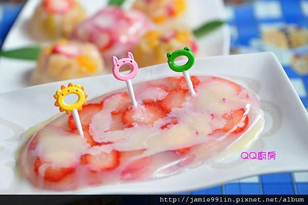 水果草莓凍