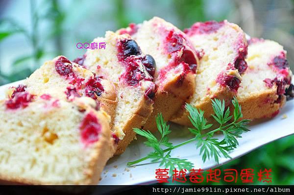 蔓越莓起司蛋糕