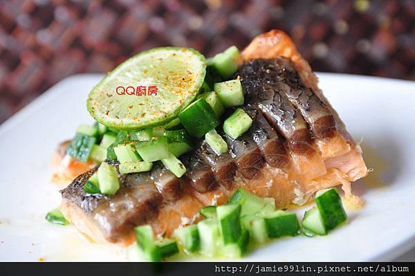 奶香一夜干鮭魚
