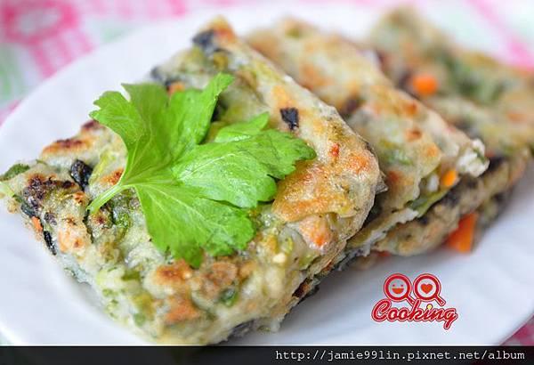 海苔芹菜葉煎餅