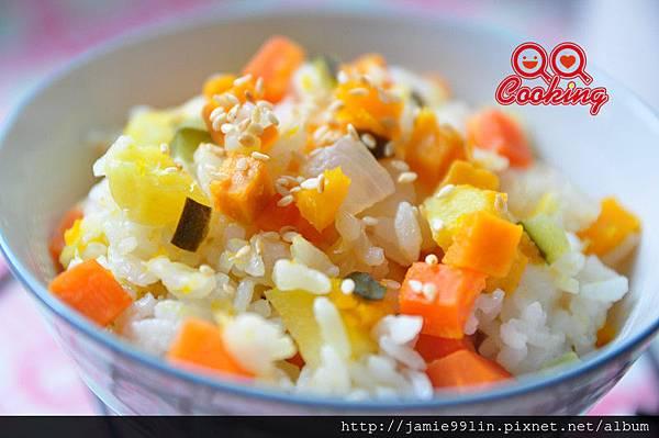 鮮彩時蔬炊飯
