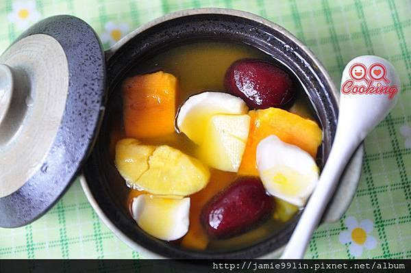 百合紅棗甜品