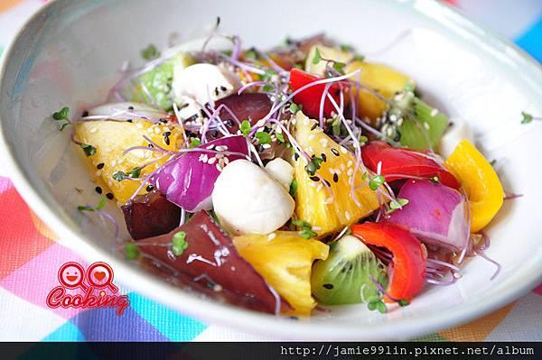 泰式繽紛蔬果沙拉