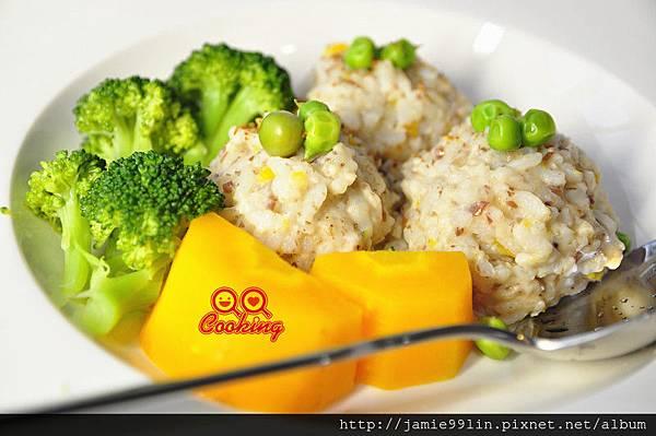 奶芋香菇菇燉飯