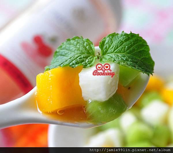 櫻桃蜜山藥蔬果丁