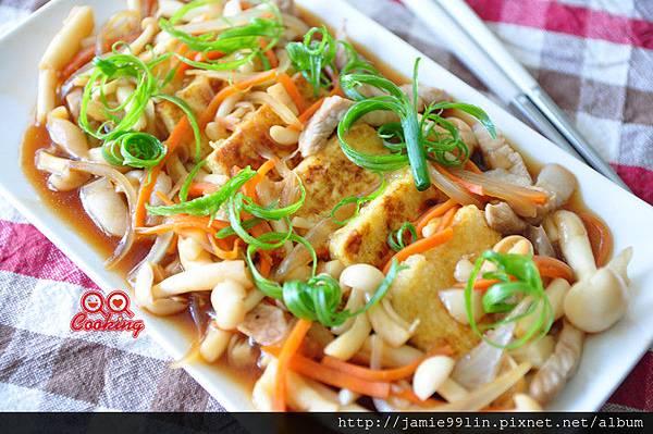 蠔油菇菇燴豆腐