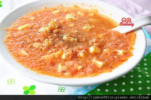 蕃茄鯛魚芙蓉湯