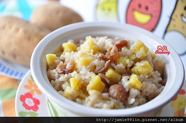 桂圓地瓜甜米粥