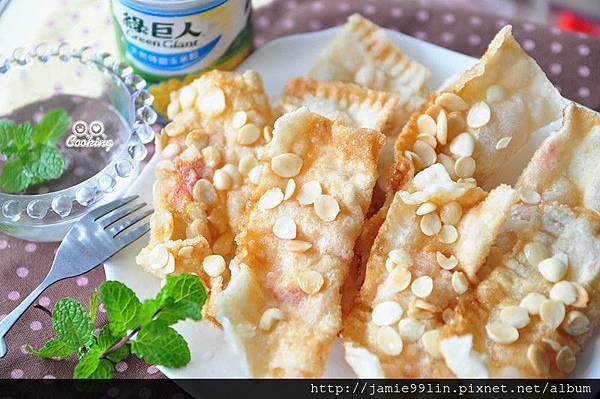 杏仁香酥玉米派