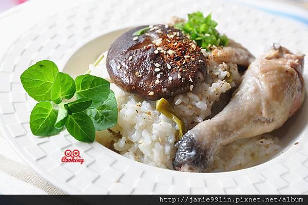 鮮菇雞腿燉飯鮮菇雞腿燉飯