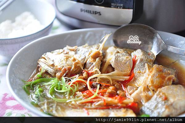 豆鼓味噌蒸鮮魚