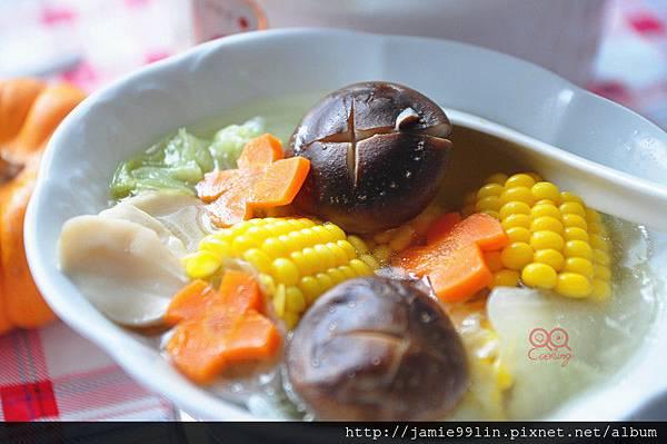玉米鮮蔬湯