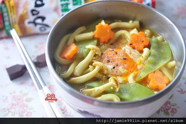 咖哩烏龍湯麵