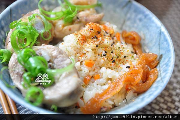香蘭葉雞油燉飯