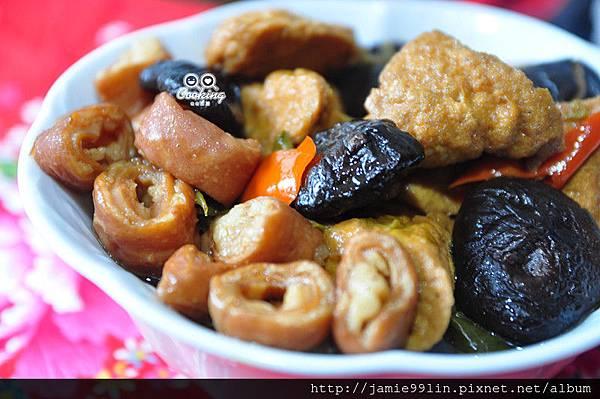 香滷肥腸油豆腐