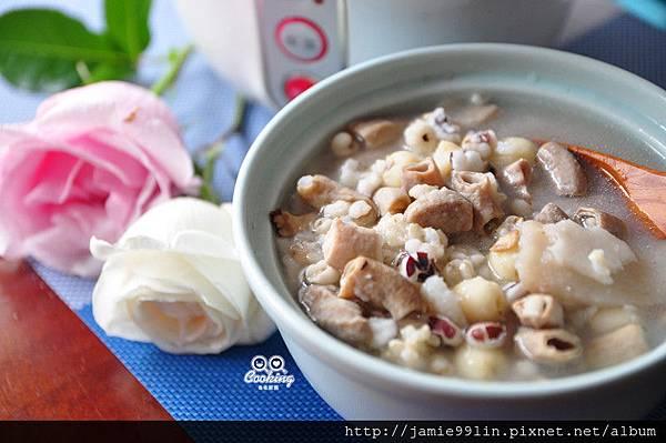 四神豬腸糙米粥