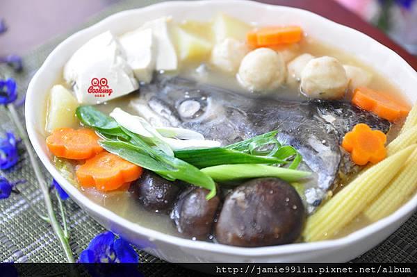 鮮味鮭魚頭鍋