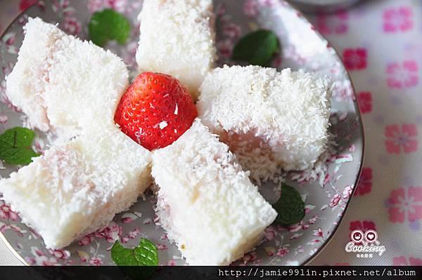 草莓雪花糕