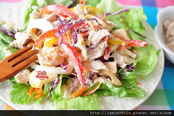 陽光鮮蔬雞肉沙拉