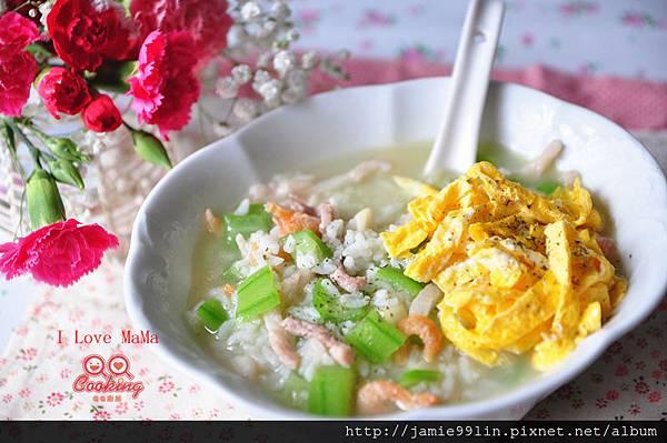 絲瓜鮮肉粥【幸福料理】