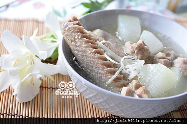 鴨肉燉冬瓜湯
