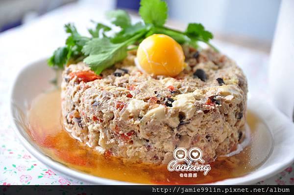 月見紅茄豆腐燉肉