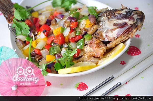 五彩糖醋魚