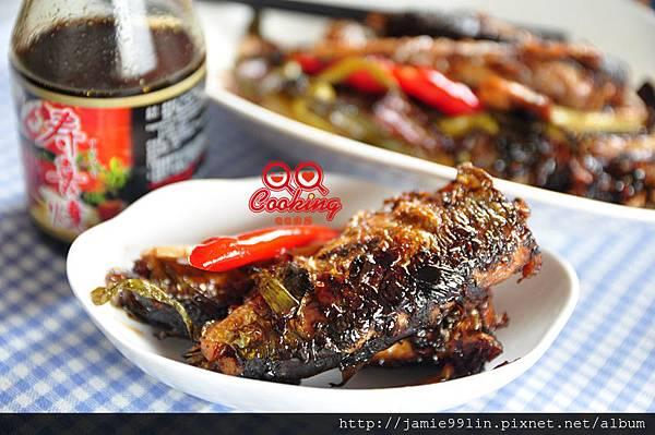 蔥燒秋刀魚