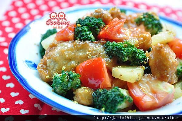 桂香茄蜜豚片