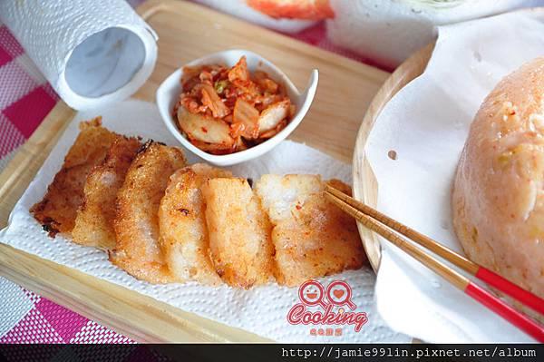 韓式泡菜蘿蔔糕