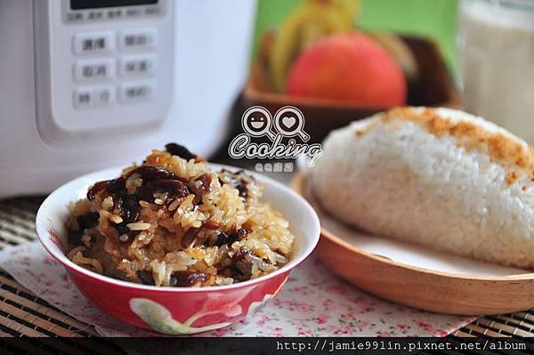 酒香桂圓甜米糕 & 傳統飯糰