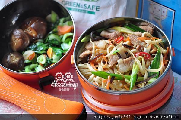 中式炒麵便當