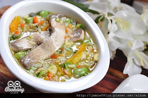 虱目魚鮮蔬粥